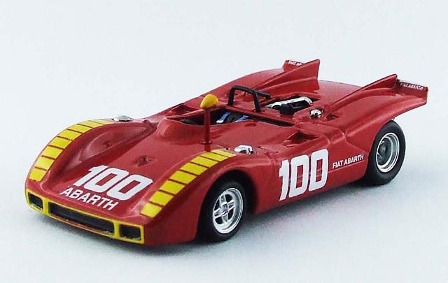 BEST MODEL 1/43 アバルト 2000 SP G.P. de Enna 1970 - A. Merzario