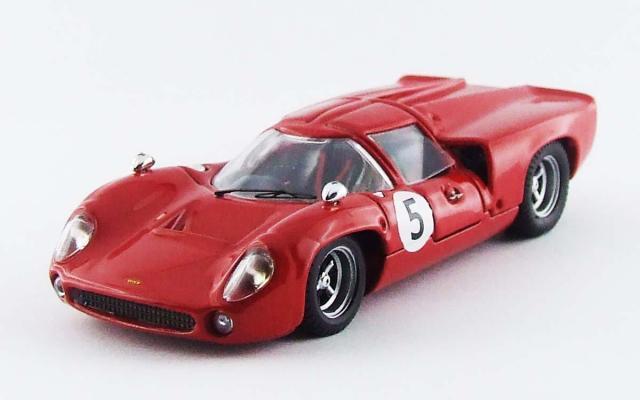 BEST MODEL 1/43 ローラ T70 クーペ スウェーデンGP 1967 Y. Rosqvist #5 優勝車