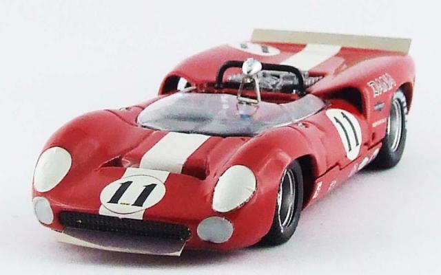 BEST MODEL 1/43 ローラ T70 スパイダー ブリッジハンプトン 1967 L. Motscheker #11