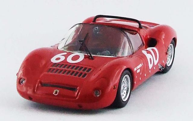 "BEST MODEL 1/43 アバルト SP 1000 モンツァ 1968 ""Pal Joe""/Botalla #60"