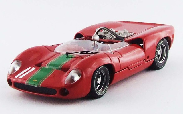 BEST MODEL 1/43 ローラ T70 スパイダー モスポート 1964 J. Surtees #11 優勝車