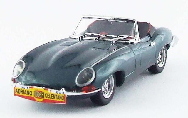 BEST MODEL 1/43 ジャガー E スパイダー  Cantagiro 1962 アドリアーノ・チェレンターノ メタリックグリーン