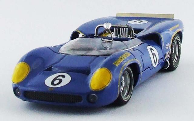 BEST MODEL 1/43 ローラ T70 MK.2 カンナム モスポート 1966 #6 M. DONOHUE