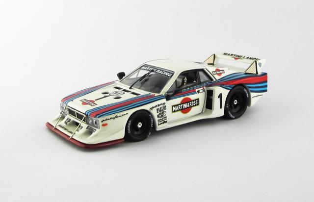 BEST MODEL 1/43 ランチャ ベータ モンテカルロ ワトキンズ・グレン 6時間レース 1981 #1 Patrese/Alboreto 優勝