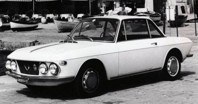 BEST MODEL 1/43 ランチア フルビア クーペ 1.2 1965 サラトガ ホワイト
