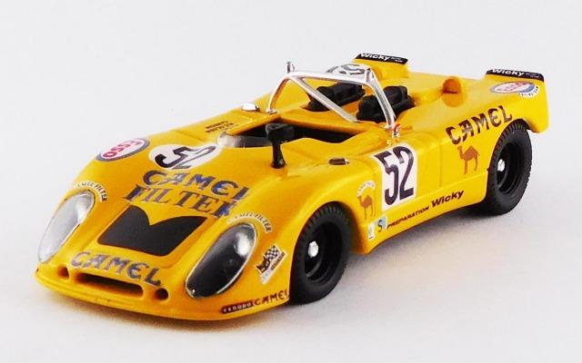 BEST MODEL 1/43 ポルシェ 908/2 FLUNDER ル・マン 1973 #52 Wicky/Cohen Olivar/Carron