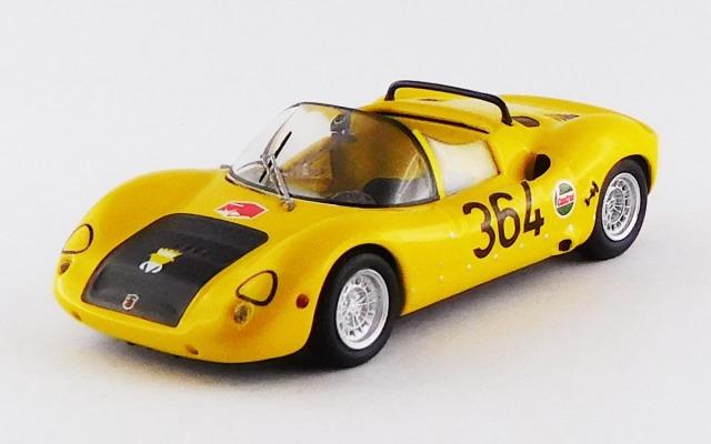 BEST MODEL 1/43 アバルト 1000SP ロヴェレート/アジアーゴ 1971 #364 M.Baldo