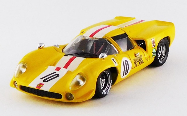 BEST MODEL 1/43 ローラ T70 クーペ セブリング12時間 1968 #10 Bonnier/Axelsson