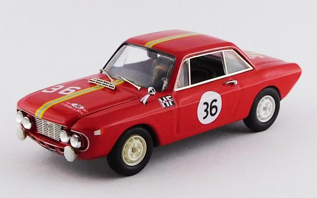 BEST MODEL 1/43 ランチア フルビア クーペ 1300 HF サンレモ ラリー 1966 #36 Cella/Lombardini 優勝車
