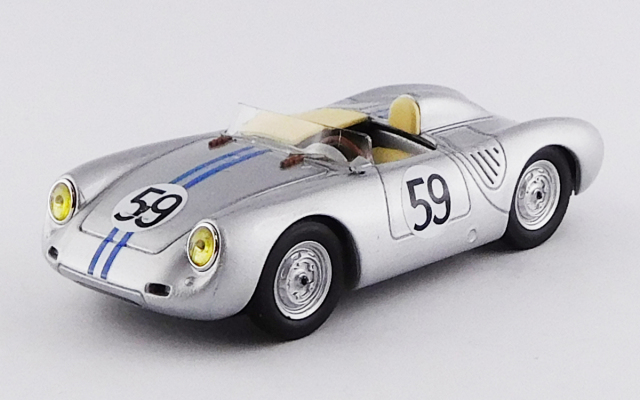 BEST MODEL 1/43 ポルシェ 550 RS ル・マン 1958 # 59 Schiller/Tot