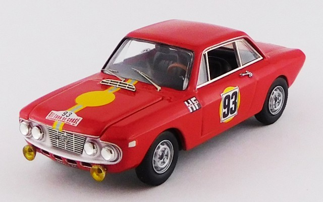 BEST MODEL 1/43 ランチア フルビア クーペ 1300 HF ツール・ド・コルス 1967 #93 Toivonen/Tiukkanen RR:2nd