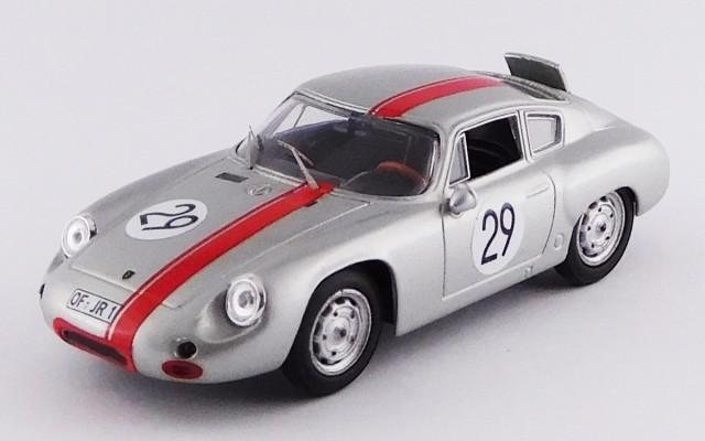 BEST MODEL 1/43 ポルシェ 356 アバルト ニュルブルクリンク 1000km 1963 #29 Rank/Wutherich