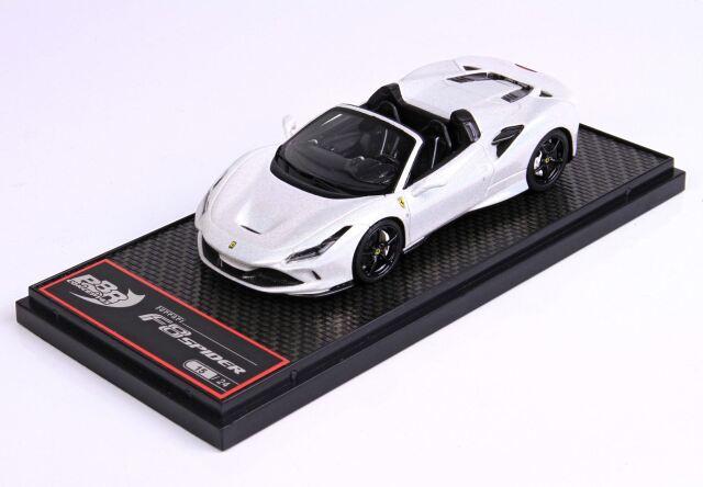 【予約】BBR 1/43 Ferrari F8 Tribute Spider Metallic White