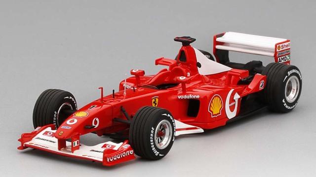 BBR COMPETITION SERIES  1/43 フェラーリ F2002 フランス GP 2002 M.シューマッハ