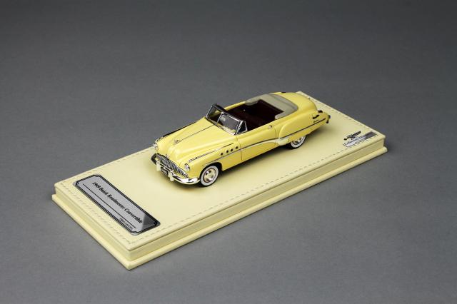 Collection d'Elegance 1/43 ビュイック 1949 ロードマスター コンバーチブル オールドアイボリー