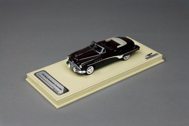 Collection d'Elegance 1/43 ビュイック 1949 ロードマスター コンバーチブル ロイヤルマルーン