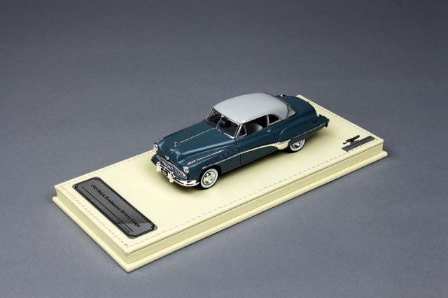 Collection d'Elegance 1/43 ビュイック 1949 ロードマスター リビエラクーペ Calvert ブルー
