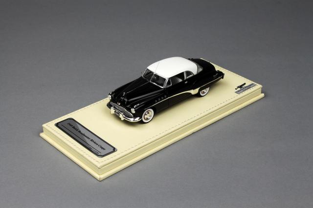 Collection d'Elegance 1/43 ビュイック 1949 ロードマスター リビエラクーペ ブラック