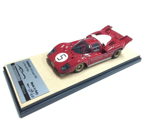 Tecnomodel1/43 フェラーリ 512S 1970 ル・マン24H #5 テストカー仕様 J.Ickx/P.Schetty