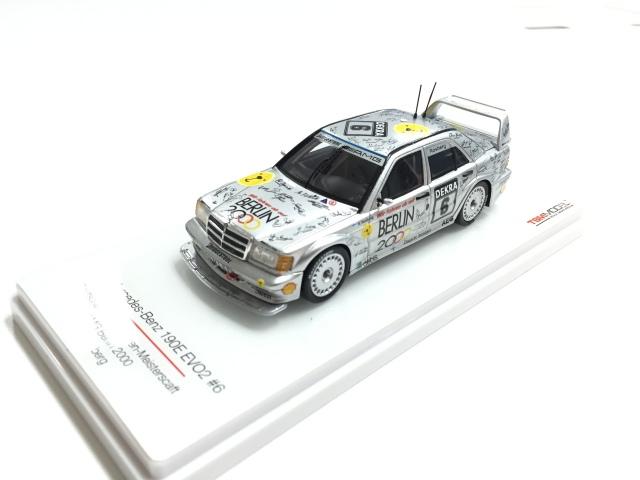 TSM 1/43 メルセデスベンツ 190E EVO2 AMG ベルリン2000 #6 1992 DTM ケケ・ロズベルグ