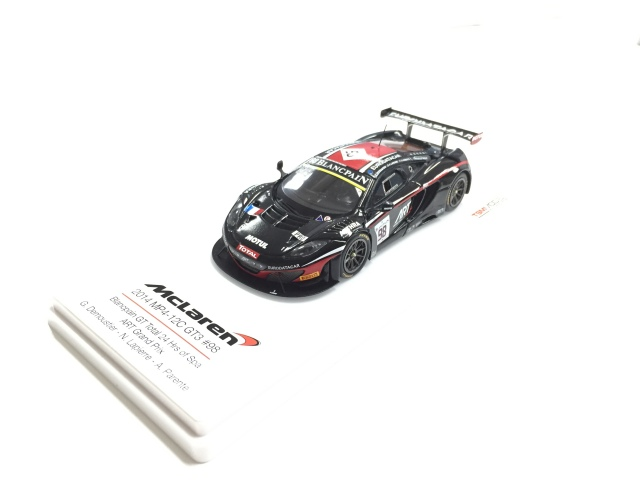 TSM 1/43 マクラーレン 12C GT3 #98 ARTグランプリ 2014  スパ・フランコルシャン24h