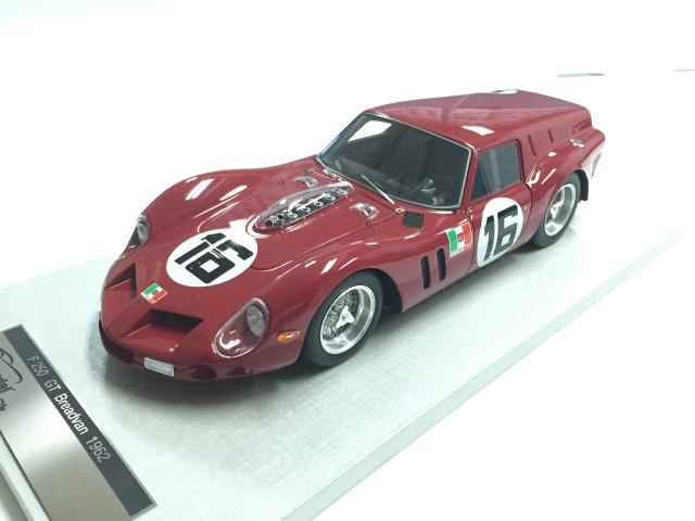 TECNOMODEL 1/18 フェラーリ 250 GT ブレッドバン ル・マン スクーデリア・セレニッシマ #16 Driver Abate/ Davis 1962