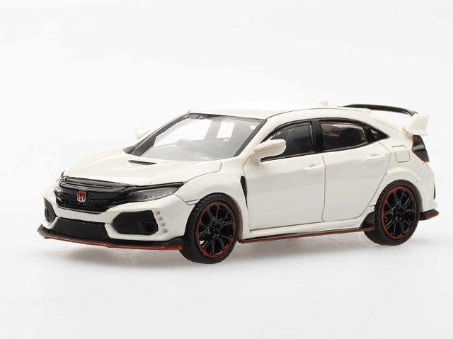 MINI GT 1/64 Honda シビック Type R チャンピオンシップホワイト (右ハンドル)