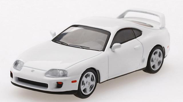 MINI GT 1/64 Toyota スープラ(JZA80) スーパーホワイト(左ハンドル)