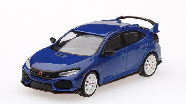 MINI GT 1/64 Honda シビック Type R ブリリアントスポーティブルー・メタリック/モデューロキット装着車 (左ハンドル)