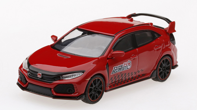 "MINI GT 1/64 Honda シビック Type R ""Time Attack 2018"""