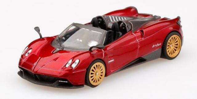 MINI GT 1/64 パガーニ ウアイラ ロードスターロッソモンツァ (右ハンドル)