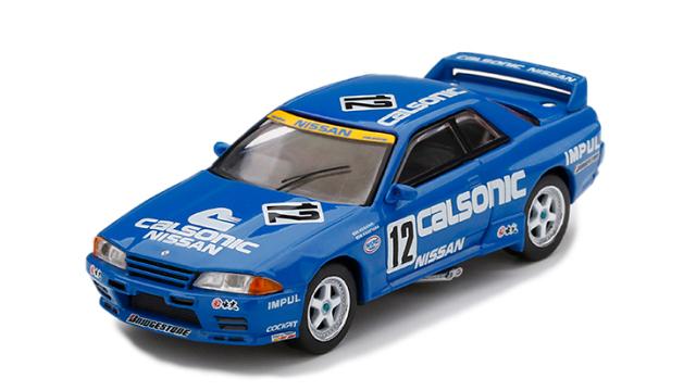 MINI GT 1/64 Nissan スカイライン GT-R R32 全日本ツーリングカー選手権 1992 Gr.A Calsonic #12(右ハンドル)