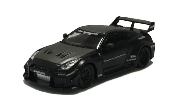 MINI GT 1/64 LB-Silhouette WORKS GT Nissan 35GT-RR バージョン1 マットブラック(左ハンドル)中国限定