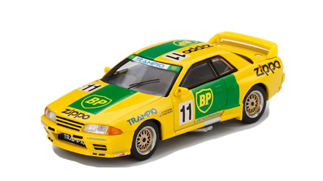 MINI GT 1/64 Nissan スカイライン GT-R R32 全日本ツーリングカー選手権 1993 Gr.A BP #11(右ハンドル)