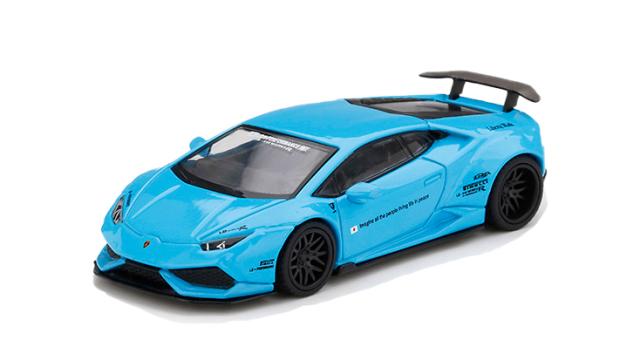 MINI GT 1/64 LB★WORKS ランボルギーニ ウラカン バージョン 1 ライトブルー(左ハンドル)