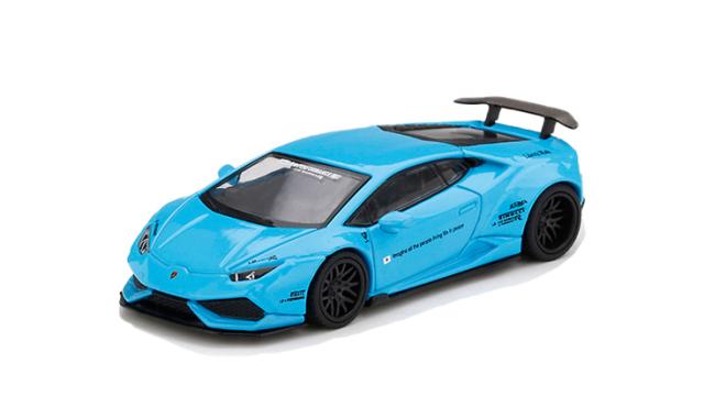 MINI GT 1/64 LB★WORKS ランボルギーニ ウラカン バージョン 1 ライトブルー(右ハンドル)
