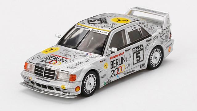 "MINI GT 1/64 メルセデス ベンツ 190E 2.5-16 エボリューション II DTM Zolder 1992 #5 ""Berlin""(左ハンドル)"