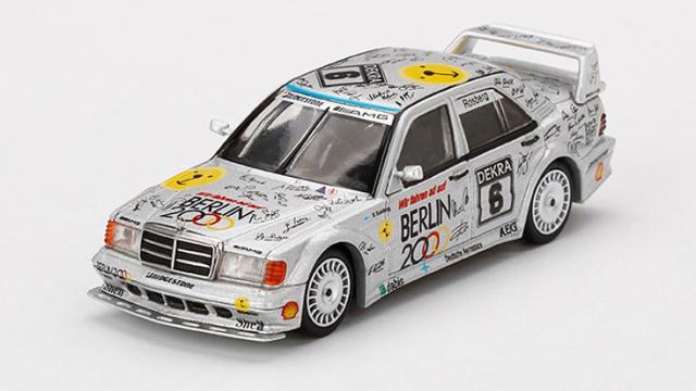 "MINI GT 1/64 メルセデス ベンツ 190E 2.5-16 エボリューション II DTM Zolder 1992 #6 ""Berlin""(左ハンドル)中国限定"