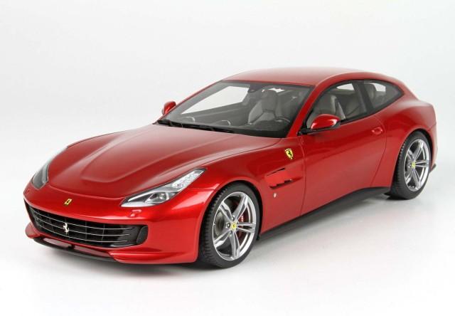 BBR 1/43 フェラーリ GTC4 ルッソ T 2016 ロッソ フィオラノ