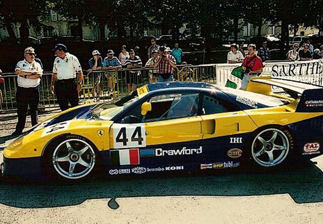 【予約】BBR 1/18 Ferrari F40 LM Le Mans 1996 TEAM ENNEA IGOL #44 Drivers Della Noce-Rosenblad-Olofson(ケース付)