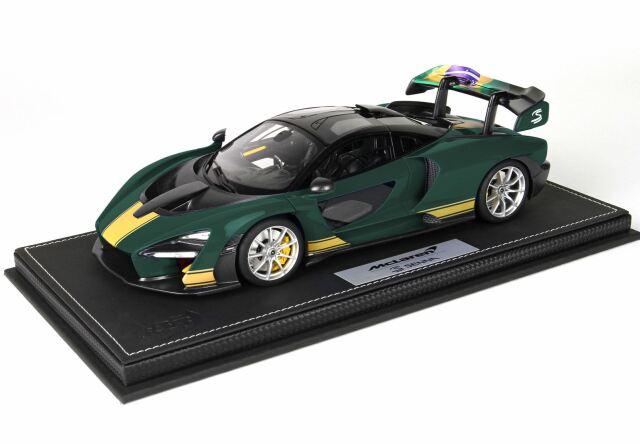 【予約】BBR 1/18 McLaren Senna 2019 Green(ケース付)