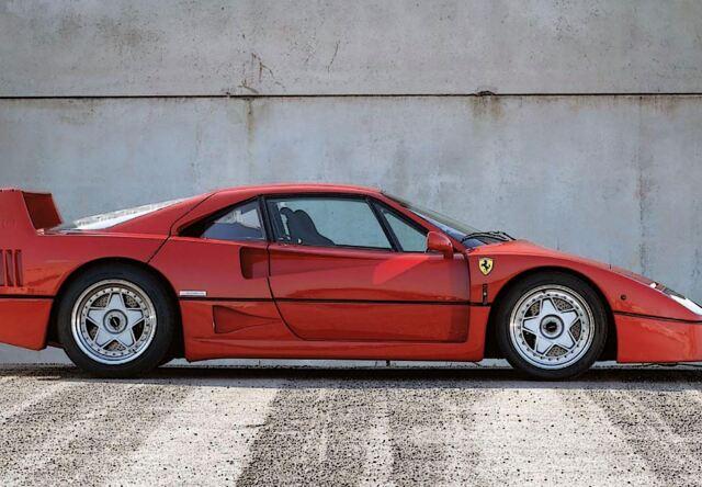 【予約】BBR 1/18 Ferrari F40 Valeo S N 79883 Gianni Agnelli Personal Car with display case