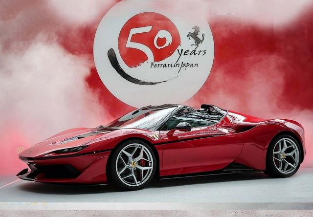 BBR 1/43 フェラーリ J50 フェラーリ日本進出50周年モデル 限定500個