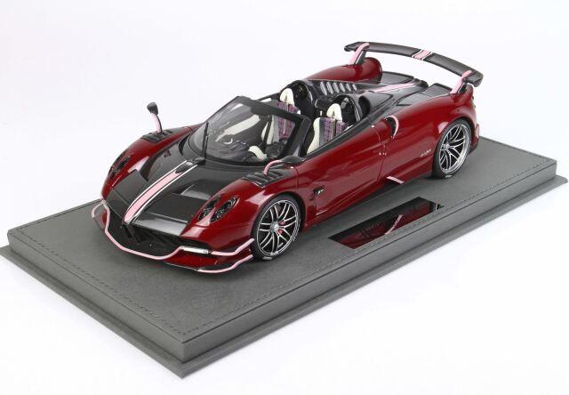 【予約】 BBR 1/18 Pagani Huayra Roadster BC Special Metallic Red(ケース付)
