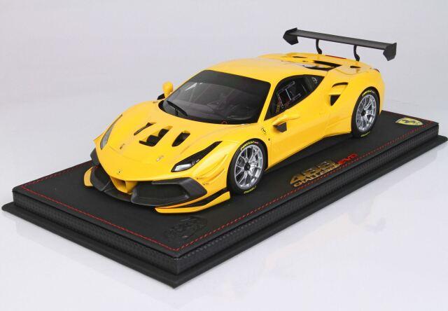【予約】 BBR 1/18 Ferrari 488 Challenge EVO 2020 Giallo Modena(ケース付)