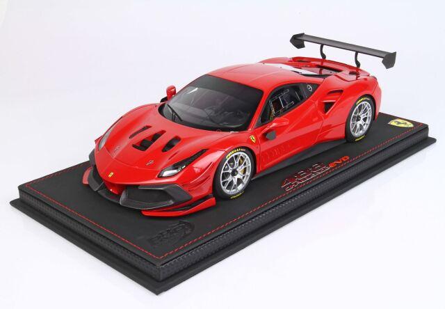 【予約】 BBR 1/18 Ferrari 488 Challenge EVO 2020 Rosso Corsa 322(ケース付)