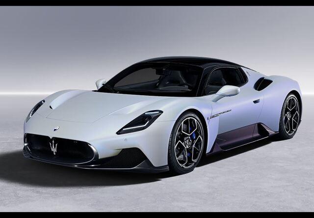 【予約】BBR 1/18 Maserati MC20 2020 Bianco Audace(ケース付)