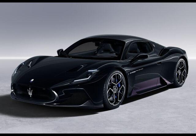【予約】BBR 1/18 Maserati MC20 2020 Nero Enigma(ケース付 )