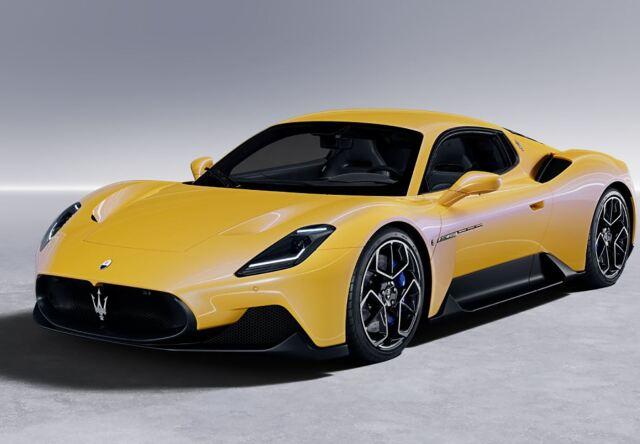 【予約】BBR 1/18 Maserati MC20 2020 Giallo Genio(ケース付)