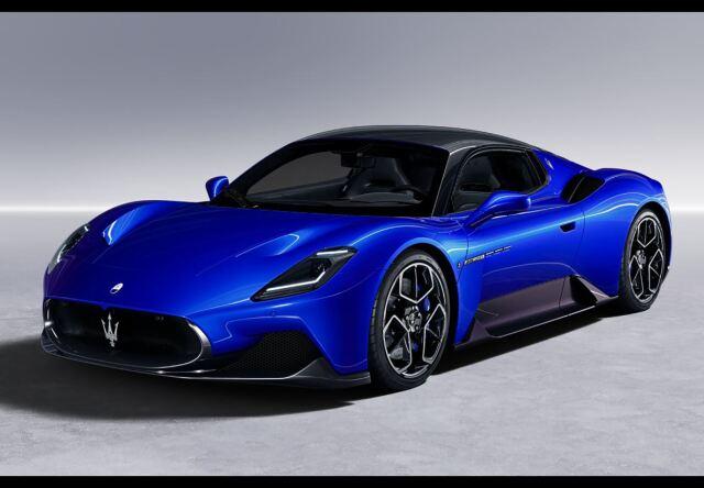 【予約】BBR 1/18 Maserati MC20 2020 Blu Infinito(ケース付 )